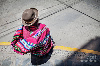 Photograph - In The Streets Of Puno by Olivier Steiner