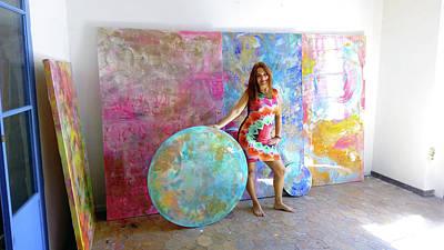 Pyrography - In The Studio by Eva Konya