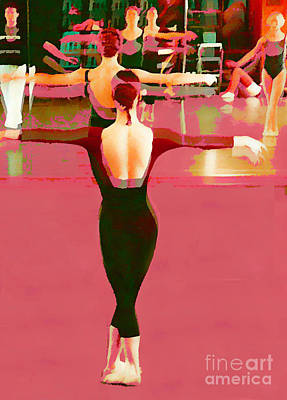 Digital Art - In The Studio by Joyce Creswell