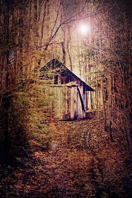 Spooky Digital Art - In The Sugar Bush by Nancy  Coelho