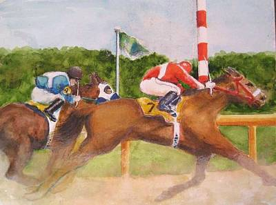 Painting - In The Turn by Bobby Walters
