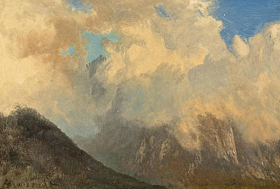 In The Tyrol Art Print by Albert Bierstadt