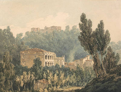 In The Valley Near Vietri Art Print