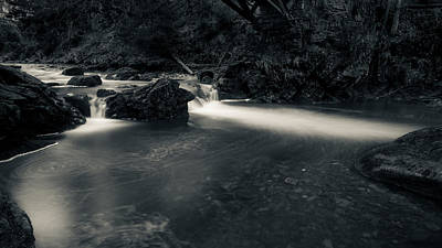 Photograph - in the valley of Oker, Harz by Andreas Levi