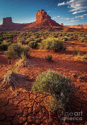 Dry Brush Wall Art - Photograph - In The Valley Of The Gods by Inge Johnsson