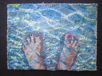 Painting - In The Water by Tilly Strauss