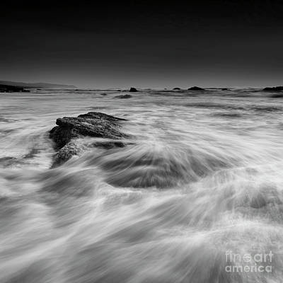 Beach Royalty-Free and Rights-Managed Images - In The Waves by Masako Metz