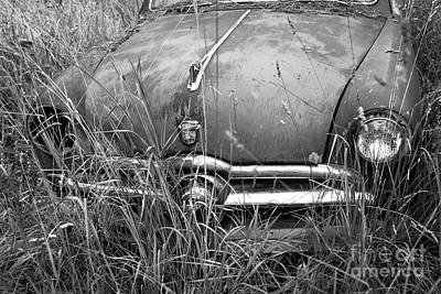 Photograph - In The Weeds - Abandoned Ford by Denise Bruchman