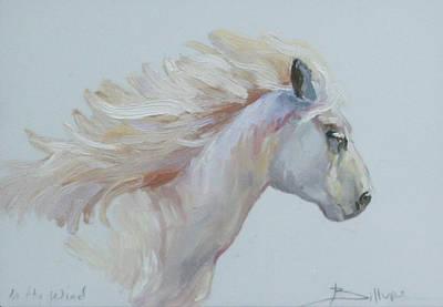 Betty Billups Wall Art - Painting - In The Wind by Betty Jean Billups