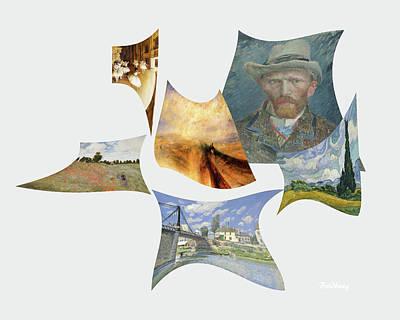 Digital Art - In The Wind by David Bridburg