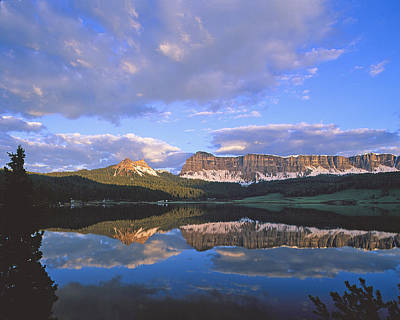 In The Wind River Range. Print by Robert Ponzoni