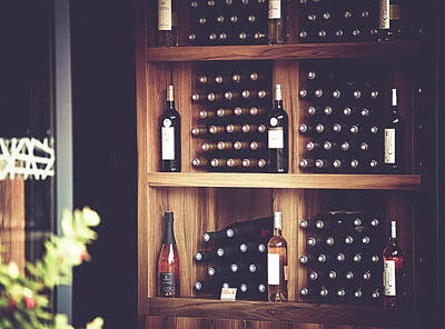 Winebottle Photograph - In The Winery by Kim Blomqvist