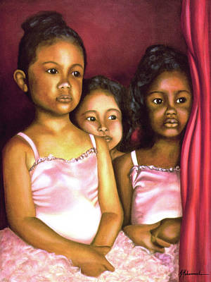 In The Wings Art Print by Marcella Muhammad