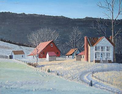 Painting - In The Winter Of My Life by Norm Starks