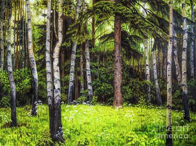 In The Woods Original by Veikko Suikkanen
