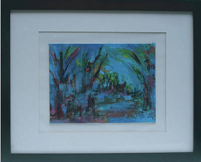 In The Woods Art Print by Vivien Ferrari