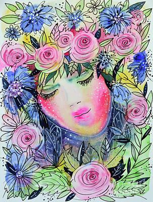 Painting - In The Wreath Of Mother Nature by Zaira Dzhaubaeva