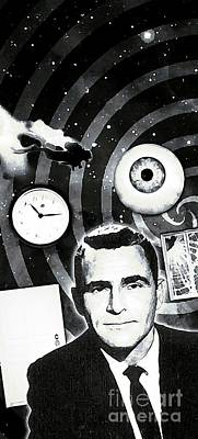 Twilight Zone Wall Art - Painting - In The Zone by John Malone