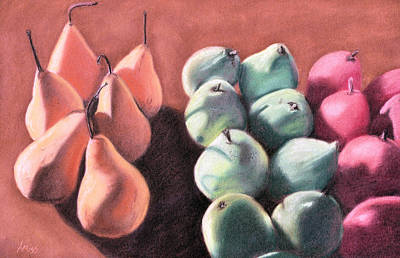 Pastel - In Their Own Groups by Jan Amiss