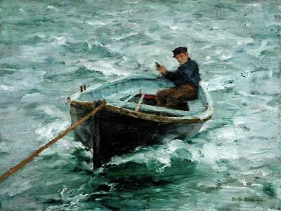 In Tow  Original by Henry Scott Tuke