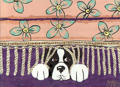 In Trouble Art Print by Sue Ann Thornton