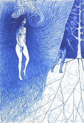 In Uncertainty Art Print by Wojtek Kowalski