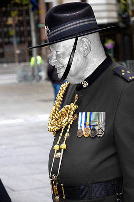 Photograph - In Uniform For Anzac by Miroslava Jurcik