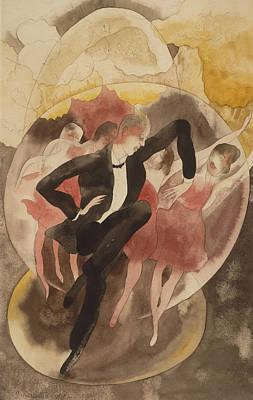 In Vaudeville Art Print by Charles Demuth