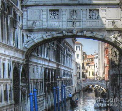 Pyrography -  In Venice by Yury Bashkin