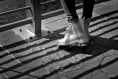 Clear Shoes Photograph - In Vogue by Kirstin Heinrich