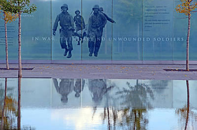 In War There Are No Unwounded Soldiers Art Print