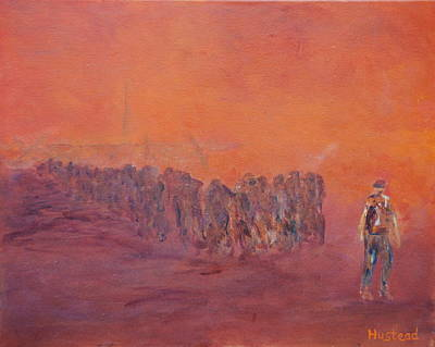 Painting - In We Go by Brian Hustead