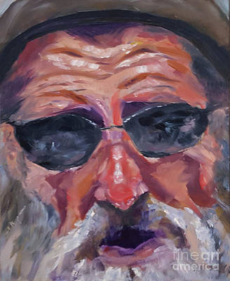 Painting - In Your Face #1 by Shelley Koopmann