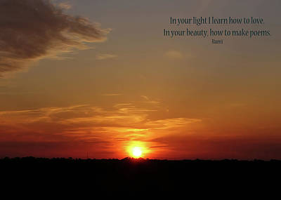 Photograph - In Your Light by Rhonda McDougall