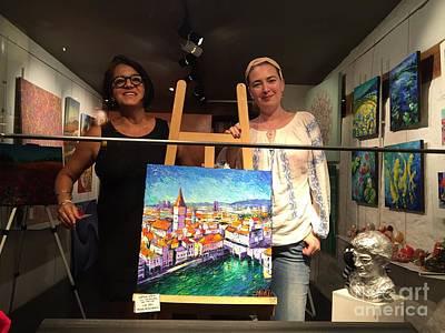 Ina And Mona Art Print
