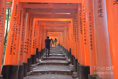 Photograph - Inari Gates by David Bearden