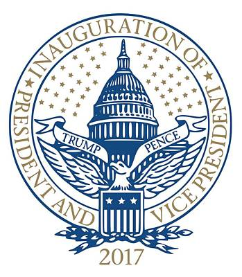 Inauguration Day Digital Art - Inauguration Trump Pence 2017 by Inauguration Day