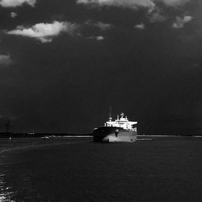 Photograph - Inbound Ship  by Adam Graser