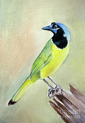 Painting - Inca Jay by Allison Ashton