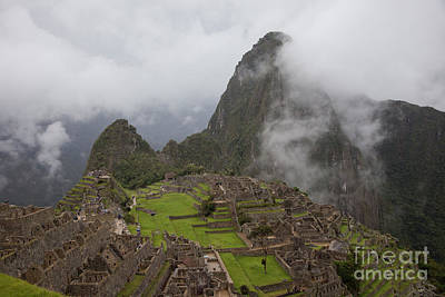 Photograph - Inca Ruins by Timothy Johnson