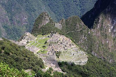 Photograph - Inca Trail To Machu Picchu by Aidan Moran