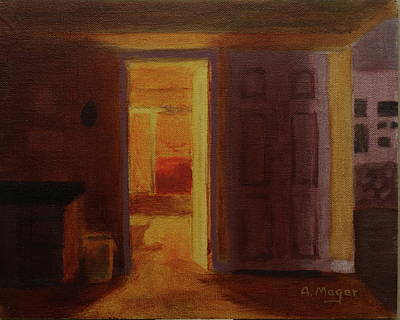Painting - Incandescence by Alan Mager