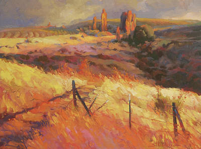 Countryside Painting - Incandescence by Steve Henderson