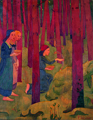 Incantation Art Print by Paul Serusier