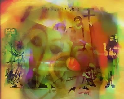 Incarnation Painting - Incarnation Vision by Marshall Thomas