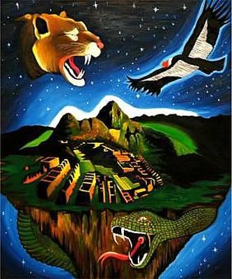 Inca's Trilogy II Original by Gustavo Oliveira