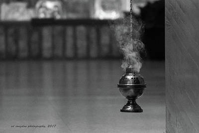 Photograph - Incense by Edward Congdon