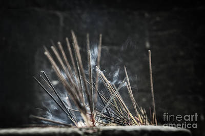 Photograph - Incense Sticks  by Patricia Hofmeester