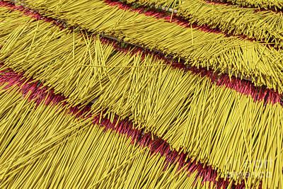 Photograph - Incense Sticks by Werner Padarin