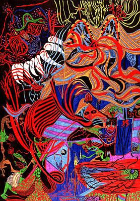 Incense Art Print by William Watson